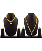 Womens Trendz Combo Pack of Two Traditional, Ethnic and Antique 24K Gold Plated  - $62.00