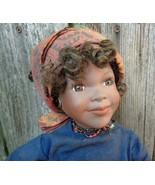 Kenya African Bisque Doll - $48.00