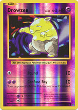 Drowzee 49/108 Common Reverse Holo XY Evolutions Pokemon Card - $1.09