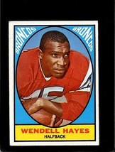 1967 TOPPS #36 WENDELL HAYES VG+/VGEX LITE CREASES *E3342  - $4.95