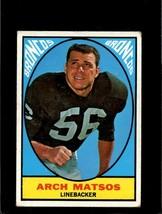 1967 TOPPS #37 ARCH MATSOS VG CREASES NICELY CENTERED *E3298  - $3.96