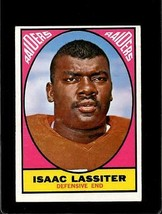 1967 TOPPS #114 ISAAC LASSITER VG+/VGEX LITE CREASES (WAX BACK) *E3359  - $3.96