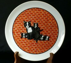 "Takahashi ""City Cat"" Collector Plate - $7.43"