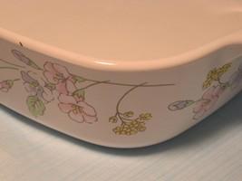 Vintage Corningware Pastel Bouquet 1 Qt Casserole dish with Lid A-1-B - $29.95