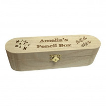 Personalised wooden pencil case - $29.99