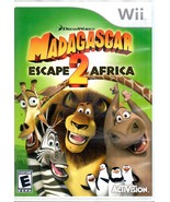 Madagascar 2 : Escape Africa - Wii Game - $9.90