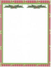 Christmas Mistletoe Stationery Printer Paper 26 Sheets - $9.89