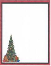 Christmas Tree Stationery Printer Paper 26 Sheets - $9.89