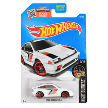 NEW Hot Wheels 1:64 Die Cast Car Night Burnerz White 1985 HONDA CR-X 5/10 - €12,79 EUR