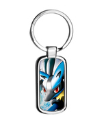 POKEMON  LUCARIO metal keyring Keychain - $13.99