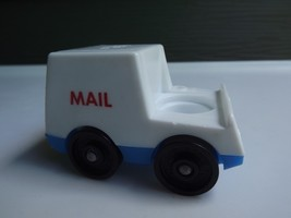 Vintage Fisher Price Little People #997 Postal Mail Truck - $6.79