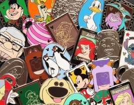 Disney Trading Pins Official Lot of 25 Starter Set 100% Authentic Disney... - $19.77