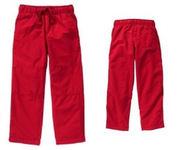 Gymboree Mix N Match 5 Red Gymster Active Pants Jersey Lined NWT - $14.01