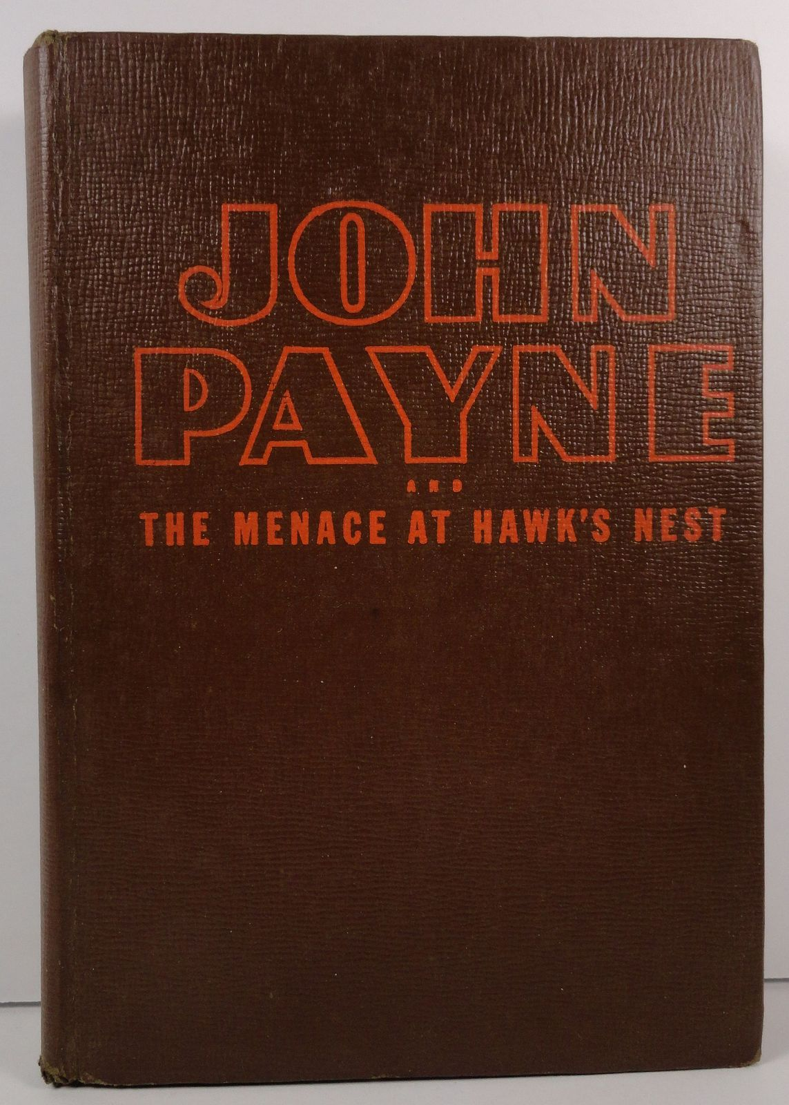 John Payne The Menace at Hawks Nest by Kathryn Heisenfelt