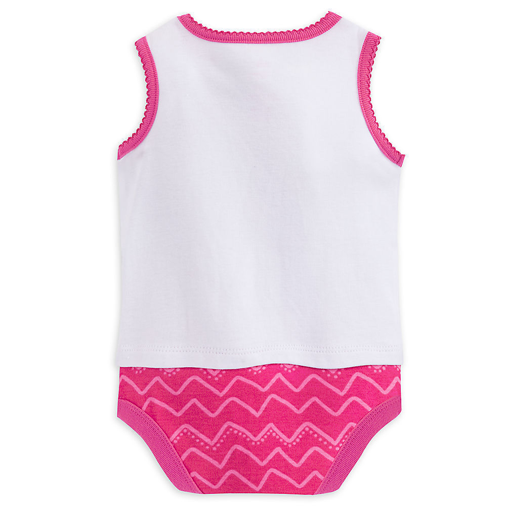 "Disney Store Finding Nemo ""Hello Summer"" Sleeveless Bodysuit for Baby Girls"