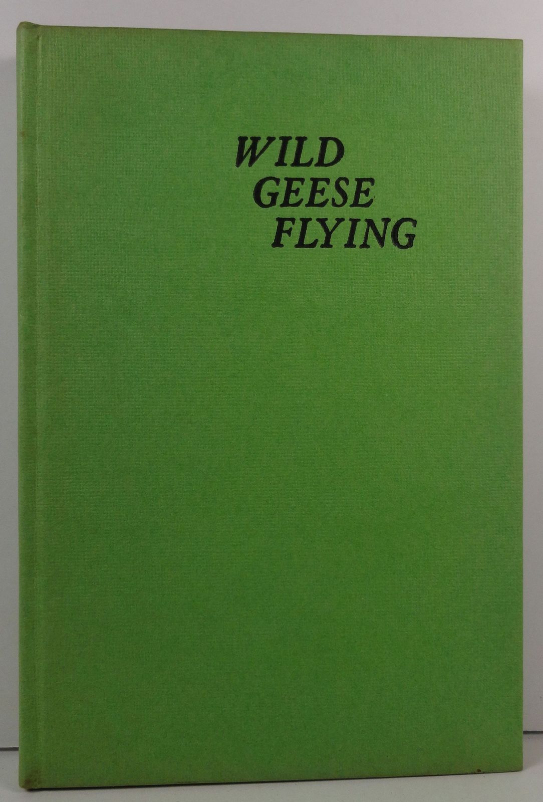 Wild Geese Flying by Cornelia Meigs 1957 HC/DJ