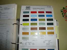 1972 Ford R-M Color Chip Paint Sample - - $7.84