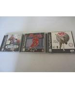 Lot Of 3 PLAYSTATION 1 PS1 Sport-Spiele NHL VR Baseball '97 NBA Shootout... - $9.86