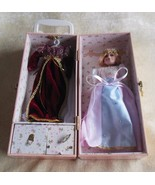 Porcelain Doll W/Extra Clothes, Accessories, Wind-Up Music Box & Carryin... - $64.35