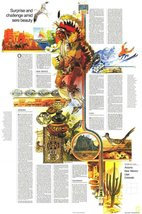 Reproduction of a poster presenting - USA - Southwest 2 (1977) - A3 Post... - $22.99