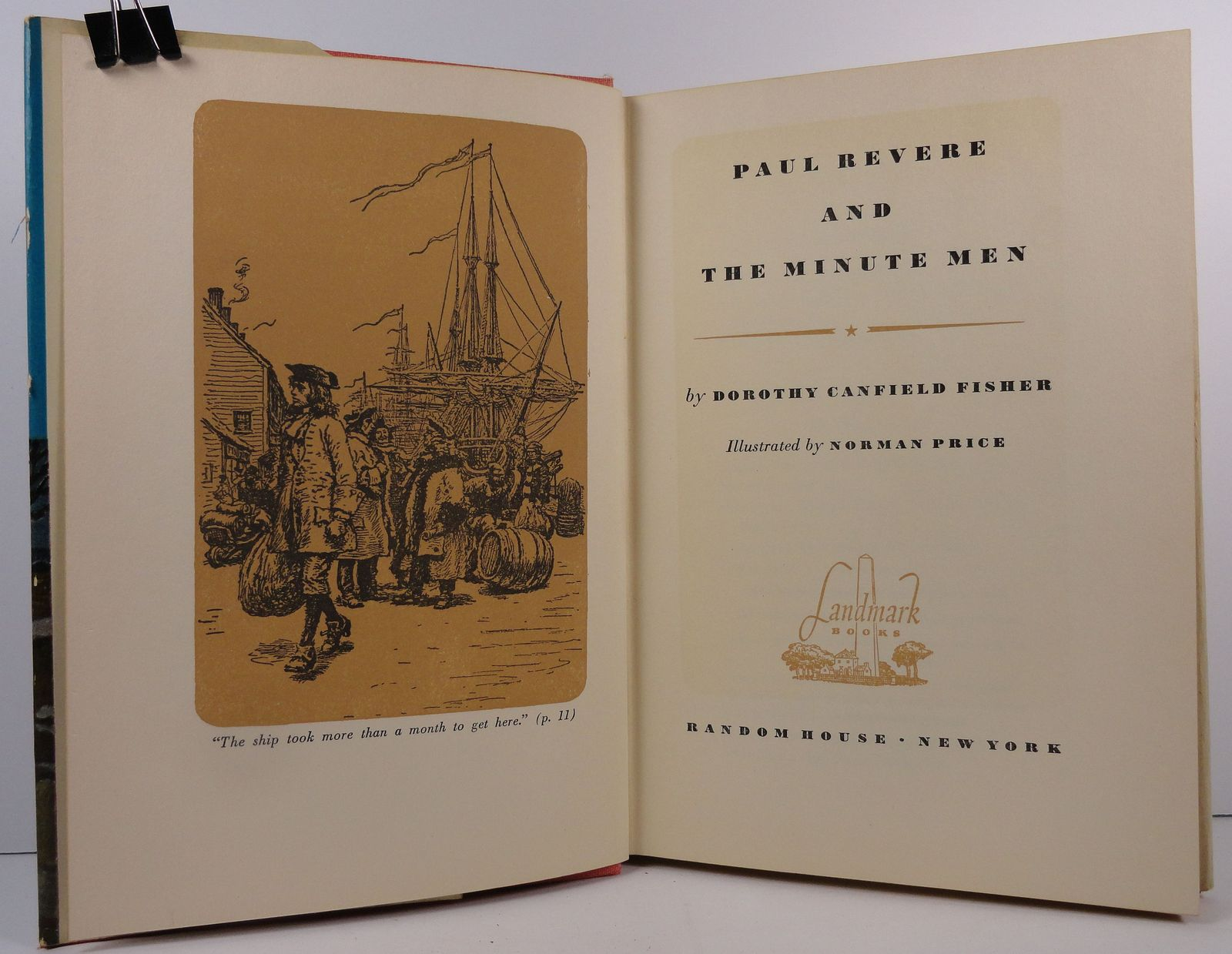 Paul Revere and the Minute Men by Dorothy Canfield Fisher
