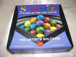 Summit: Pyramid of the Last Color ... the Artist's Solitaire - $16.32