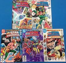 ALL-STAR SQUADRON lot (5) #10 #11 #12 #13 #14 (1982) DC Comics JSA JLA FINE - $14.84