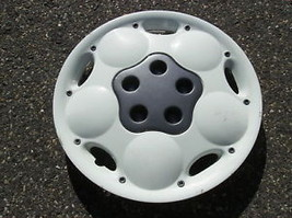 one genuine 1995 to 1997 Chrysler Neon Expresso white hubcap wheel cover - $35.06