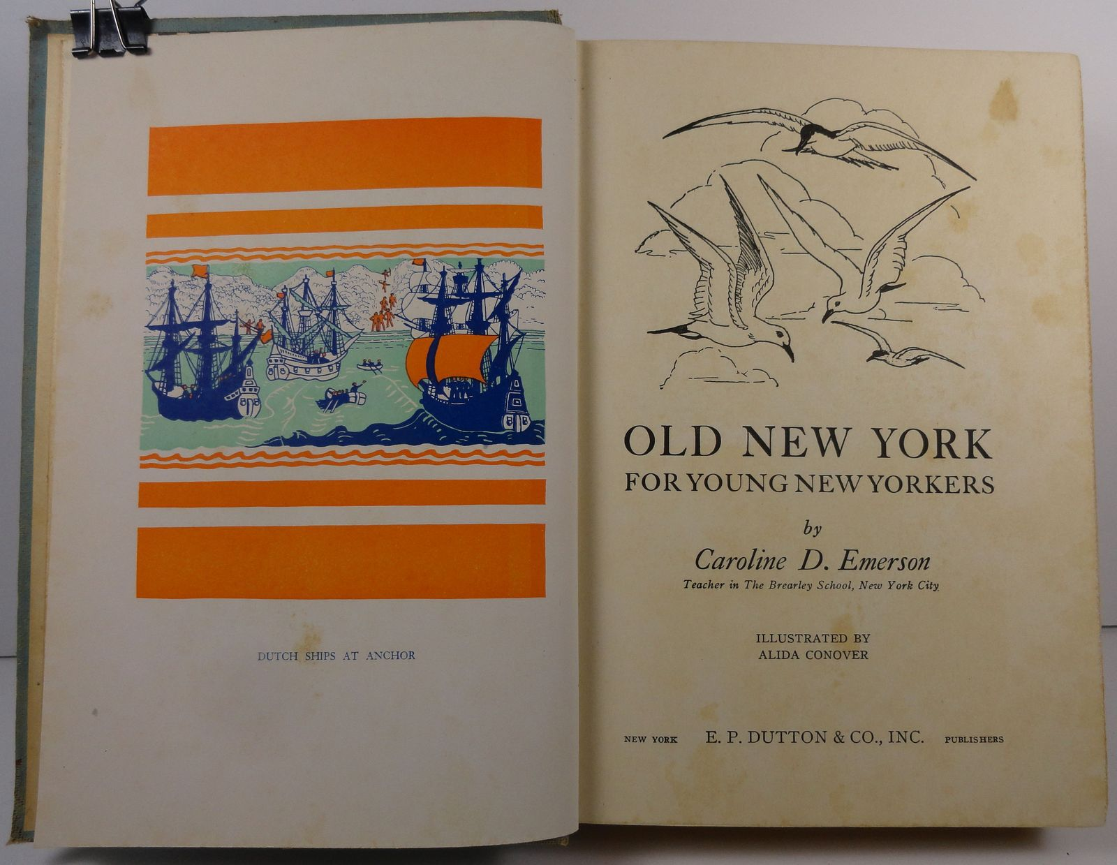 Old New York for Young New Yorkers by Caroline D. Emerson