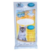 Cat Litter Sifting Liners Plastic For Litter Boxes Toilet Pan 28 Liners ... - $19.99
