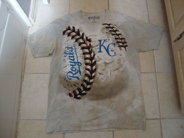 Primary image for MLB Kansas City Royals Baseball Sportswear Fan Apparel Tan T Shirt Size 2XL