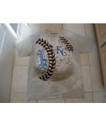 MLB Kansas City Royals Baseball Sportswear Fan Apparel Tan T Shirt Size 2XL - $16.82