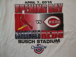 MLB Baseball St. Louis Cardinals Opening Day 2014 Sports Fan T Shirt Size 2XL - $15.53