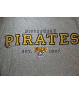 MLB Baseball Pittsburgh Pirates Logo Est. 1887 Sportswear Fan T Shirt Si... - $15.53