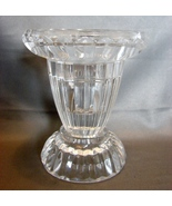 "Gorham Crystal Clear Candlestick Holder Taper & Votive - 4"" Tall - $10.99"