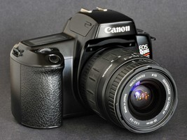 STuDENTS: Canon EoS Rebel S with Canon Af EF 28-80mm f/3.5-5.6 Sigma Lens Collec - $79.00