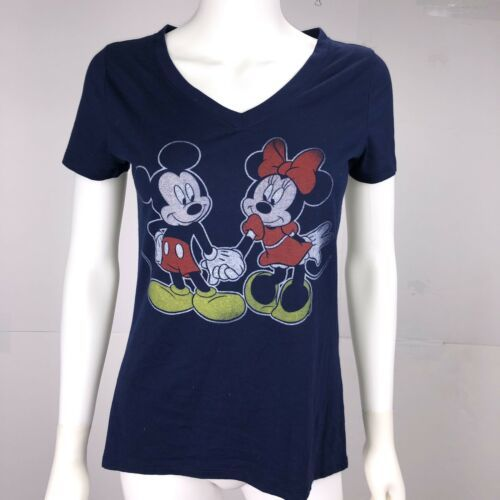 f6af71aa3 Disney Women's Small Navy Blue Mickey Minnie and 50 similar items
