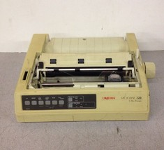 Oki Okidata Microline 320 9 Pin Dot Matrix Printer GE5253A Missing Covers - $75.00
