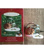 Hallmark Keepsake Ornament Snowy Garden Marjolein Bastin 2000 NIB - $15.00