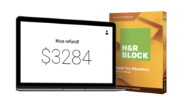 H&r Blocco Tasse Software Basic Semplice Tasse Situazioni - $7.90