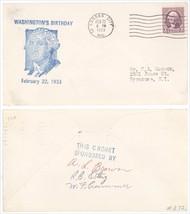 1933 President George Washington Birthday Kansas City MO SIGNED Cover! KC - $1.99