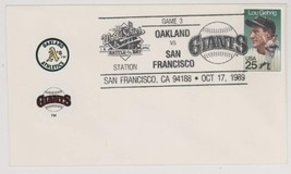 RARE 10/17/89 Oakland As @ San Francisco Giants World Series Cover! WS 2417 - $1.99
