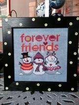 Forever Friends cross stitch chart Amy Bruecken Designs - $7.20