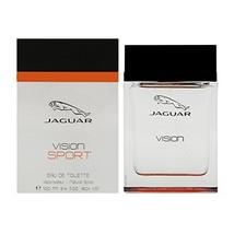 Jaguar Vision Sport Eau De Toilette Spray for Men, 3.4 Ounce - $33.32