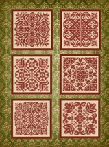 CLEARANCE Old Fashioned Ornaments cross stitch chart Elizabeth's Designs  - $7.00