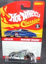 Hot Wheels Scorchin Scooter Diecast #23 of 25 Series 1 2004 - $7.96