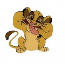 Disney Lion King Silly Faced Simba Disneyland Paris pin - $16.34