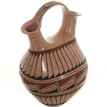 Hand Built & Painted Mata Ortiz Wedding Vase Polychrome By Griselda Camacho - $449.00