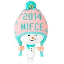One Fun Niece - 2014 Hallmark Ornament - Family  Snowman Girl - Snow - C... - $5.43