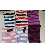 Tommy Hilfiger Women's T Shirt Size M  L XL XXL NWT Striped - $24.99